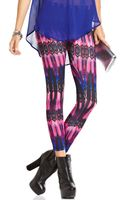 Material Girl Printed Leggings - Lyst