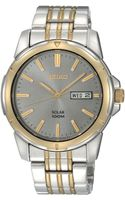 Seiko Mens Solar Two Tone Stainless Steel Bracelet 39mm Sne098 - Lyst