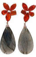 Irene Neuwirth Labradorite Drop Earrings - Lyst