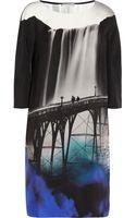 Mary Katrantzou Printed Silk Dress - Lyst