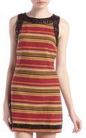Free People Tapestry Bead Trim Dress - Lyst