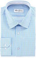 Robert Graham Edwin Striped Dress Shirt Blue 16 - Lyst