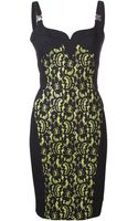 Versace Sleeveless Dress - Lyst