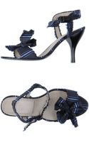 Lanvin Highheeled Sandals - Lyst