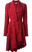 Kenzo Asymmetric Dress - Lyst