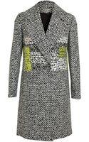 Diane Von Furstenberg Nala Woven Woolblend Coat - Lyst