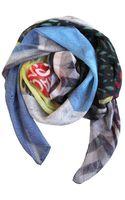 Good&co Union Lane Chiffon Silk Scarf - Lyst