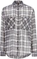 Mango Lightweight Check Shirt - Lyst