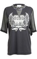 3.1 Phillip Lim Sono Mama Embellished Tshirt - Lyst