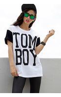 Forever 21 Tom Boy Boyfriend Tee - Lyst