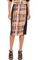 Marissa Webb Phillis Aerial Plaid Print Skirt - Lyst