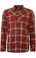 Diesel Western Check Long Sleeved Shirt - Lyst