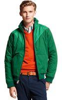 Tommy Hilfiger Chevron Zip Up Jacket - Lyst