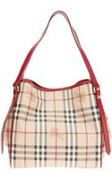Burberry Small Tote - Lyst