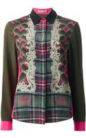 Emma Cook Mixed Print Shirt - Lyst