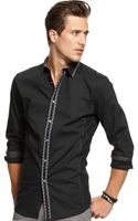 Inc International Concepts Long Sleeve Button Down Coco Shirt - Lyst