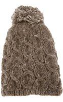 Grevi Chunky Knit Beanie - Lyst