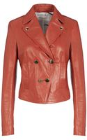 Mauro Grifoni Leather Outerwear - Lyst