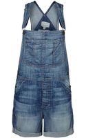 Current/Elliott Denim Overall - Lyst