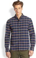 Rag & Bone Plaid Cotton Shirt - Lyst