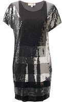 Michael by Michael Kors Michael Michael Kors Sequin Dress - Lyst