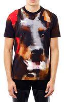 Givenchy Abstract Doberman Print T-shirt - Lyst