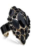 Roberto Cavalli Swarovski Snake Head Ring - Lyst