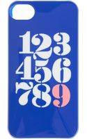 J.Crew Shiny Numbers Case For Iphone 4 - Lyst