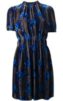 Christopher Kane Printed Dress - Lyst