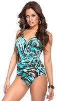 Miraclesuit Last Stop Pandora Onepiece Swimsuit - Lyst