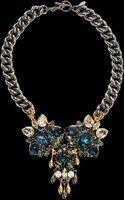 Anton Heunis Tripple Cluster Necklace - Lyst