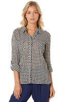 C&c California Gingham Button Down Shirt - Lyst