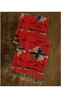 Denim & Supply Ralph Lauren Denim & Supply Ralph Lauren Printed Linen Fringe Scarf  - Lyst