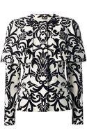 Alexander McQueen Felted Baroque Jacket - Lyst