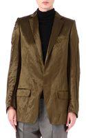 Haider Ackermann Wool and Silkblend Blazer - Lyst