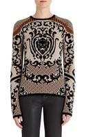Rachel Roy Jacquard Sweater - Lyst