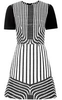 Peter Som Jacquard Mini Dress - Lyst