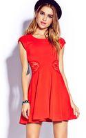 Forever 21 Ladylike Skater Dress - Lyst