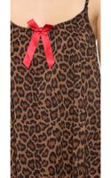 L'agent By Agent Provocateur Leonara Babydoll Leopard - Lyst