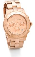 Marc By Marc Jacobs Large Blade Chrono Watch - Lyst