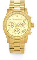 Michael Kors Sport Watch Gold - Lyst