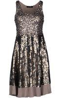 Twin-set Simona Barbieri Kneelength Dress - Lyst