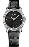 Hugo Boss Parvati Crystal Stainless Steel Watch 36mm - Lyst