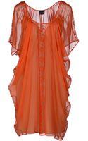 Pf Paola Frani Short Dress - Lyst