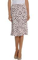 Marni Knee Length Skirt - Lyst