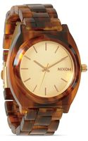 Nixon The Time Teller Acetate Watch 37mm - Lyst