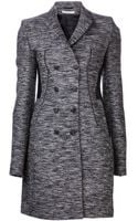 Givenchy Tweed Coat - Lyst