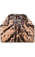 Alexander McQueen Leopard De Manta Cosmetic Case - Lyst