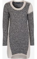 French connection Block Party Knits Dress - Lyst