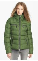 Bogner Channel Quilted Down Jacket - Lyst